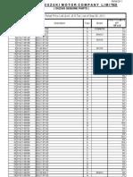 Retail Price List 06-09-2011 PAK SUZUKI