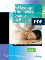 A Massage Therapist's Guide to Business, 2012
