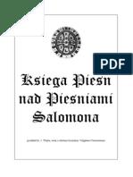 Księga Pieśń nad Pieśniami Salomona