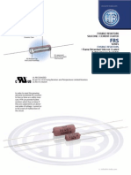 HTR India - Products - Silicone Coated Resistors - Wire Wound Resistors - FRS (English)