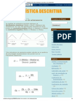 Estatística Descritiva_ Medidas de assimetria e de achatamento