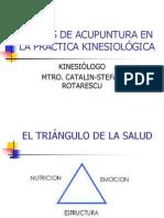 Puntos de Acupuntura en La Practica Kinesiologica
