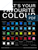 What s Your Favourite Colour by Fudgegraphics
