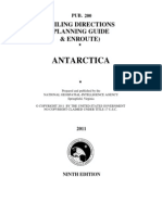 Pub. 200 Antarctica (Planning Guide and Enroute), 9th Ed 2011