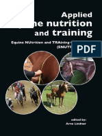 Applied Equine Nutriton and Training