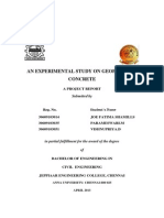 Geopolymer Concrete Thesis