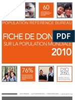 PRB_Population Mondiale 2010