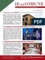 Notizie Dal Comune di Borgomanero del 30 Gennaio 2014