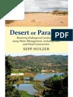 Desert or Paradise Restoring Endangered Landscapes Pp1 -58