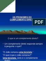 Os Pronomes Docomplementodireto