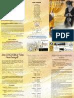 Formulaire d'Inscription en Ligne Concours International de Violon Marie Cantagrill 2014