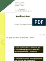 Audit général semestre 6 2013