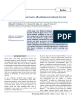 A Clinicopathological Review of Amiodarone-Induced Thyroid