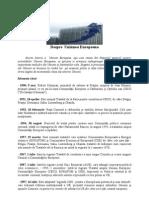 Despre Uniunea Europeana -Istoric Si Buget