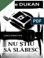 83175802 Dukan Nu Stiu Sa Slabesc Cartea