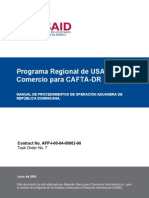 CAFTA-DR_Manual Procedimientos Aduaneros Republica Dominican_1