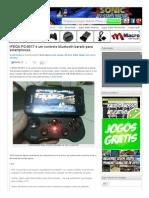 IPEGA PG-9017 é um controle bluetooth barato para smartphones _ Mobile Gamer Blog _ Jogos para Celular, Android, iPhone, iPod touch e iPad