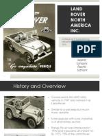 Land Rover North America Inc.