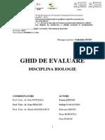 Ghid de Evaluare-Disciplina Biologie
