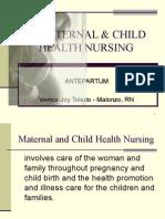 Antepartum Part1