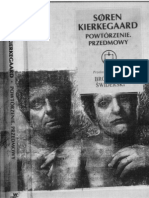 Soren Kierkegaard - Powtorzenie, Próba psychologii eksperymentalnej