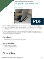 Cómo modificar el portátil para añadir una antena externa- tutallerdebricolaje