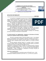 Buletin Informativ Functionarea DGASPC