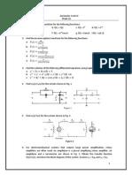 Sheet 1 Control