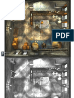 0One Games Battlemaps Floorplans - Brewery