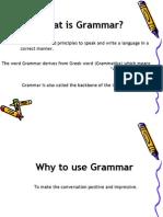 Speeches of English Grammar (1)