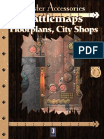 0One Games Battlemaps Floorplans - City Shops
