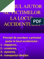 13.6. Primul Ajutor Accident