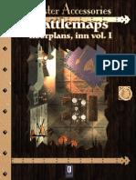 0One Games Battlemaps Floorplans - Inn Vol I
