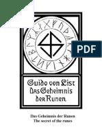 G_geheimnis Der Runen_von List g