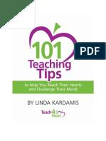 101 Teaching Tips