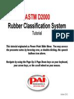 Astm d2000 Rubber Clasifiaction