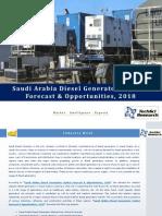 Saudi Arabia Diesel Generators Market Forecast and Opportunities, 2018