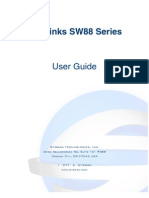 Syswan Octolinks SW88 Multi WAN Router User Guide