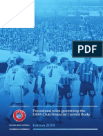 UEFA Club Financial Control Body Procedures (2014)