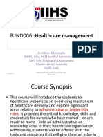 pp 01 introduction to healthcare administration
