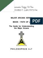 GOLDEN DAWN 4=7 Major Arcana Series - Moon