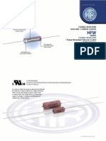 HTR India - Products - Wire Wound Resistors - Silicone Coated Resistors - HFW (English)