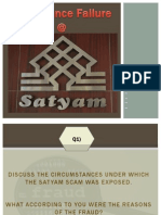 Satyam Fraud New