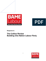 BAME LabourResponse -Collins Review Labour Party
