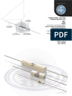 HTR India - Products - Current Sense Resistors - Ceramic Encased Resistor - RL (English)