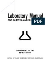 Laboratory Manual for Queensland Sugar Mills Fifth Edition