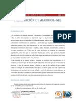 FabricacionAlcohol Gel