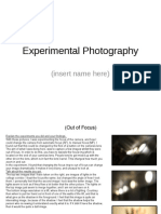 Experiments Evidence Template