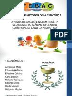 PROJETO DE METODOLOGIA CIENTÍFICA - SLIDE