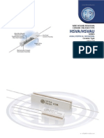 HTR India - Products - Wire Wound Resistors - Ceramic Encased Resistor - HSVAU (English)